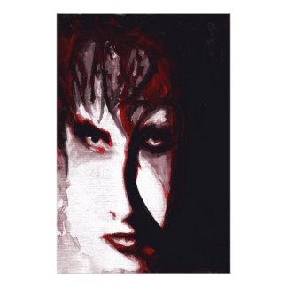 Gothic God Post Punk Goth Music Man Portrait Art Art Photo