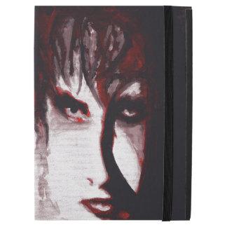 "Gothic God Post Punk Goth Music Man Portrait Art iPad Pro 12.9"" Case"