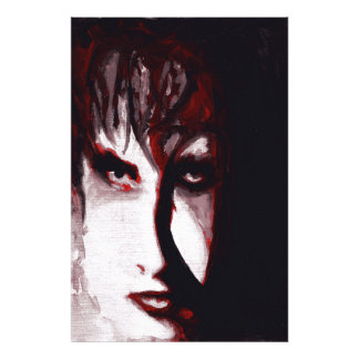 Gothic God Post Punk Goth Original Art Photo Print