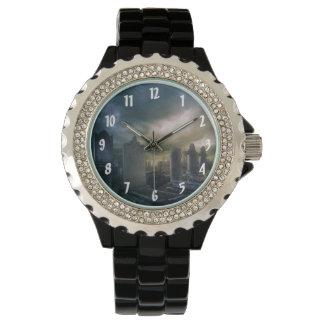 Gothic Graveyard Wrist Watch