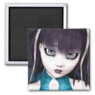 Gothic Grunge Doll Magnet