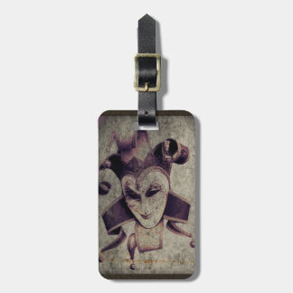 gothic grunge renaissance  joker vintage tag for bags