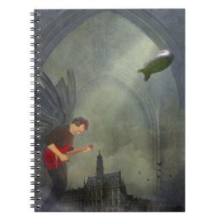 Gothic Guitar Notebook