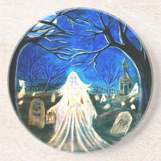 Gothic Halloween Coaster