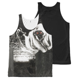 Gothic Halloween photograph All-Over Print Singlet