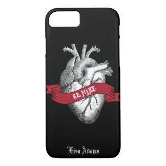Gothic Heart Valentine's Day iPhone 8/7 Case
