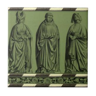 Gothic Home Decor-Gothic Tile-Kitchen Backsplash Small Square Tile