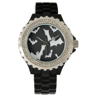 Gothic Horror Vampire Bats Wristwatches