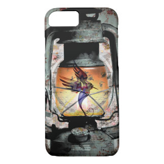 Gothic Hummingbird Lantern iPhone 8/7 Case