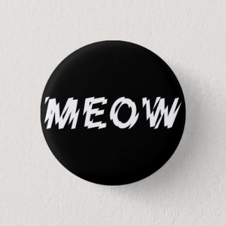 Gothic Industrial Punk Meow Pin