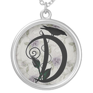 'Gothic Initial D' Necklace