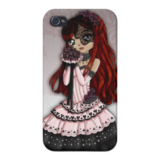 Gothic Lace Bride iPhone Case 4 iPhone 4/4S Cover