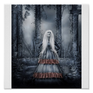 Gothic Lady Poster
