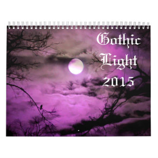 Gothic Light 2015 Wall Calendar