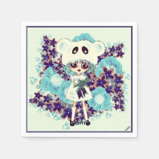 Gothic Lolita child ice Princess PinkyP - why sad? Disposable Serviette