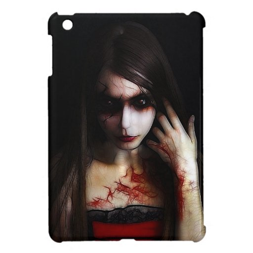 gothic look case for the iPad mini
