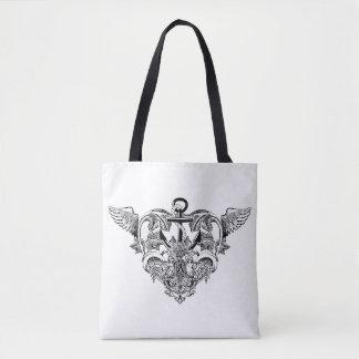 Gothic Love BW Tote Bag
