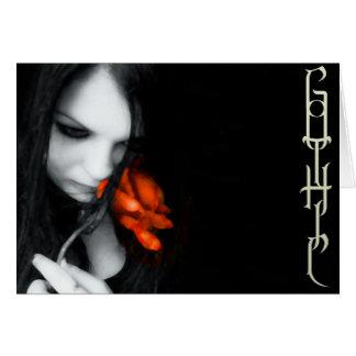 GOTHIC LOVE CARD