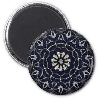 Gothic mandala refrigerator magnet