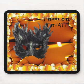 Gothic Mask Trick Or Treat Merchandise Mouse Pad