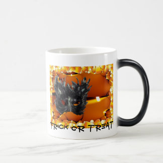 Gothic Mask Trick Or Treat Merchandise Morphing Mug