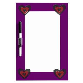 Gothic Melting Love Heart Memo Board
