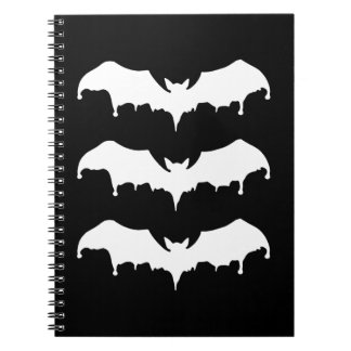 Gothic Melting Vampire Bats Notebooks