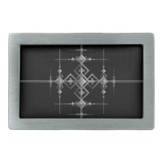 Gothic metallic pattern. belt buckles