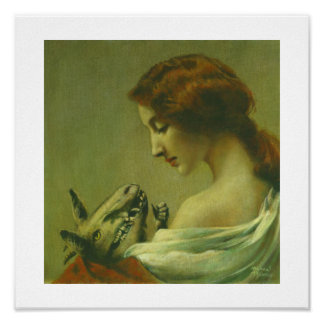 Gothic Mother And Child Devil Print
