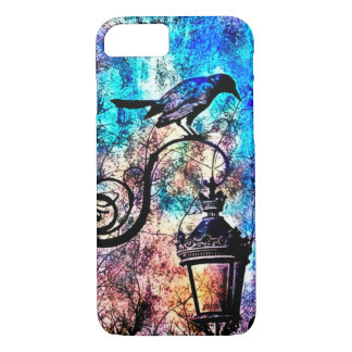 Gothic Nevermore Vintage iPhone 7 Case