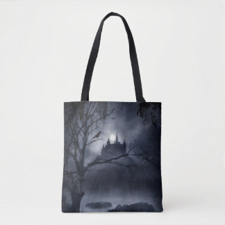 Gothic Night Fantasy All-Over-Print Tote Bag