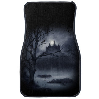 Gothic Night Fantasy Front Car Mat