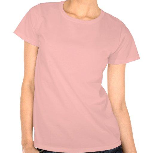 Gothic Pattern Skull Logo in pink Shirt