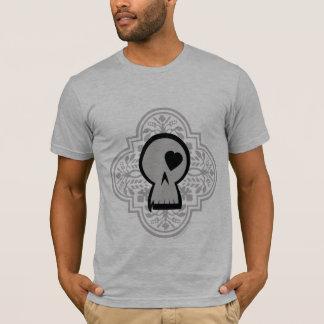 Gothic Pattern Skull Logo light T-Shirt