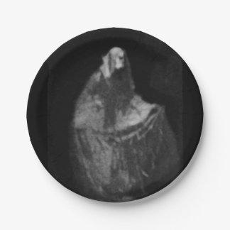 Gothic phantom paper plate