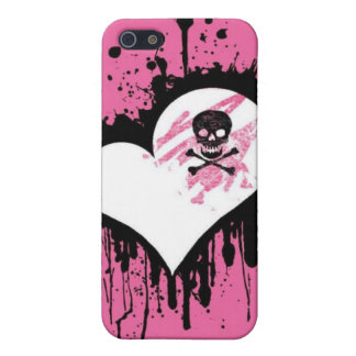 Gothic Pink iPhone 5/5S Covers