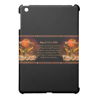 Gothic Pisces zodiac astrology by Valxart.com iPad Mini Covers