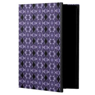 Gothic Purple Lace Fractal Pattern