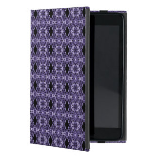 Gothic Purple Lace Fractal Pattern Cases For iPad Mini