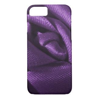 Gothic Purple Rose iPhone 7 Case