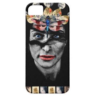 gothic retro face iPhone 5 cover