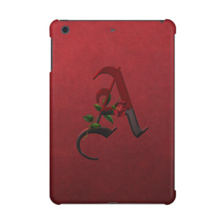 Gothic Rose Monogram A
