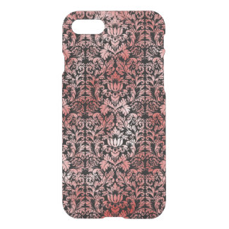 Gothic Rose Red Black Damask iPhone 8/7 Case