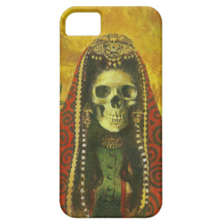 Gothic Skeleton Witch iPhone 5 Case
