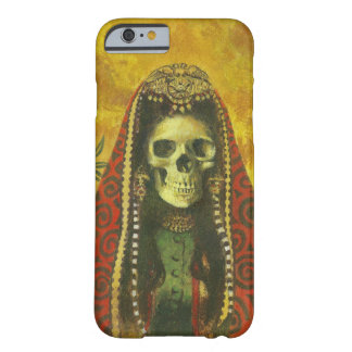 Gothic Skeleton Witch iPhone 6 case Barely There iPhone 6 Case
