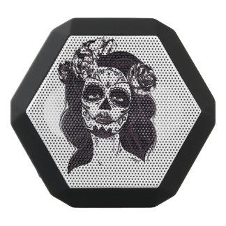Gothic Skull Black Bluetooth Speaker