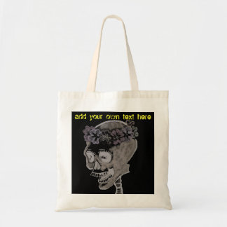 Gothic Skull Budget Tote Bag