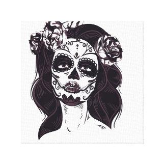 Gothic Skull Canvas Print