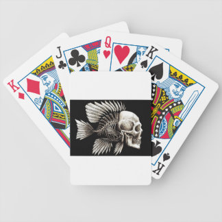 GOTHIC SKULL FISH DECK OF CARDS