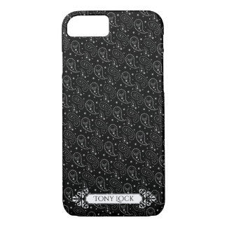 Gothic Skull Paisley Pattern iPhone 8/7 Case